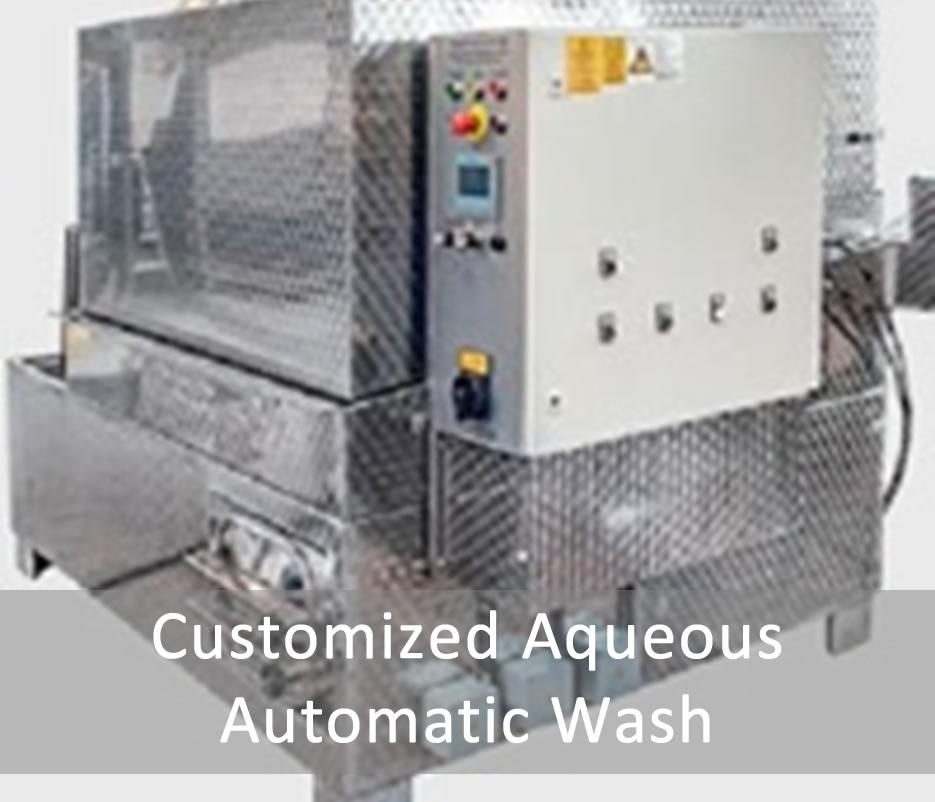 Customized Aqueous Automatic Wash